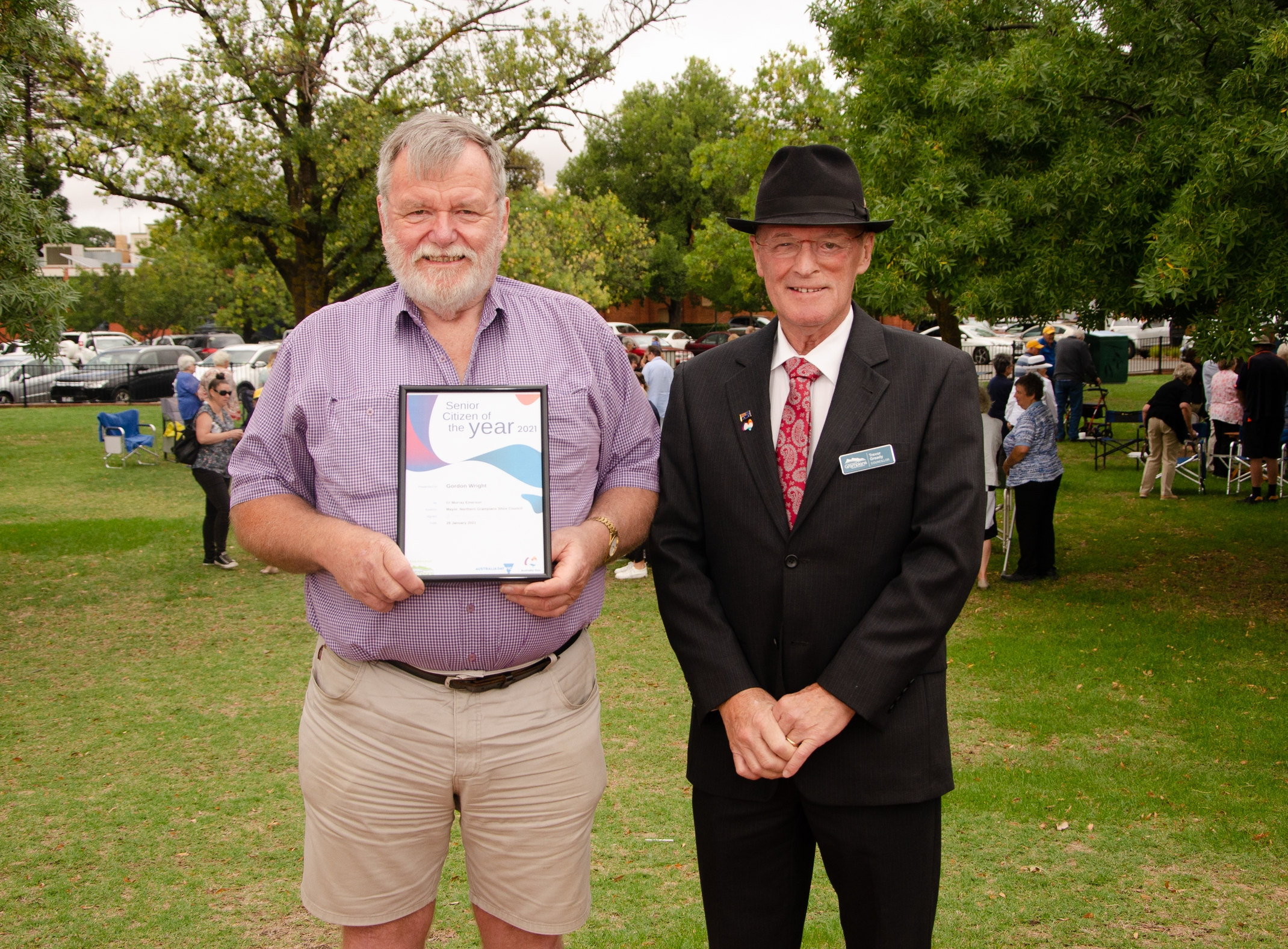 St Arnaud Senior Citizen of the Year-Gordon Wright