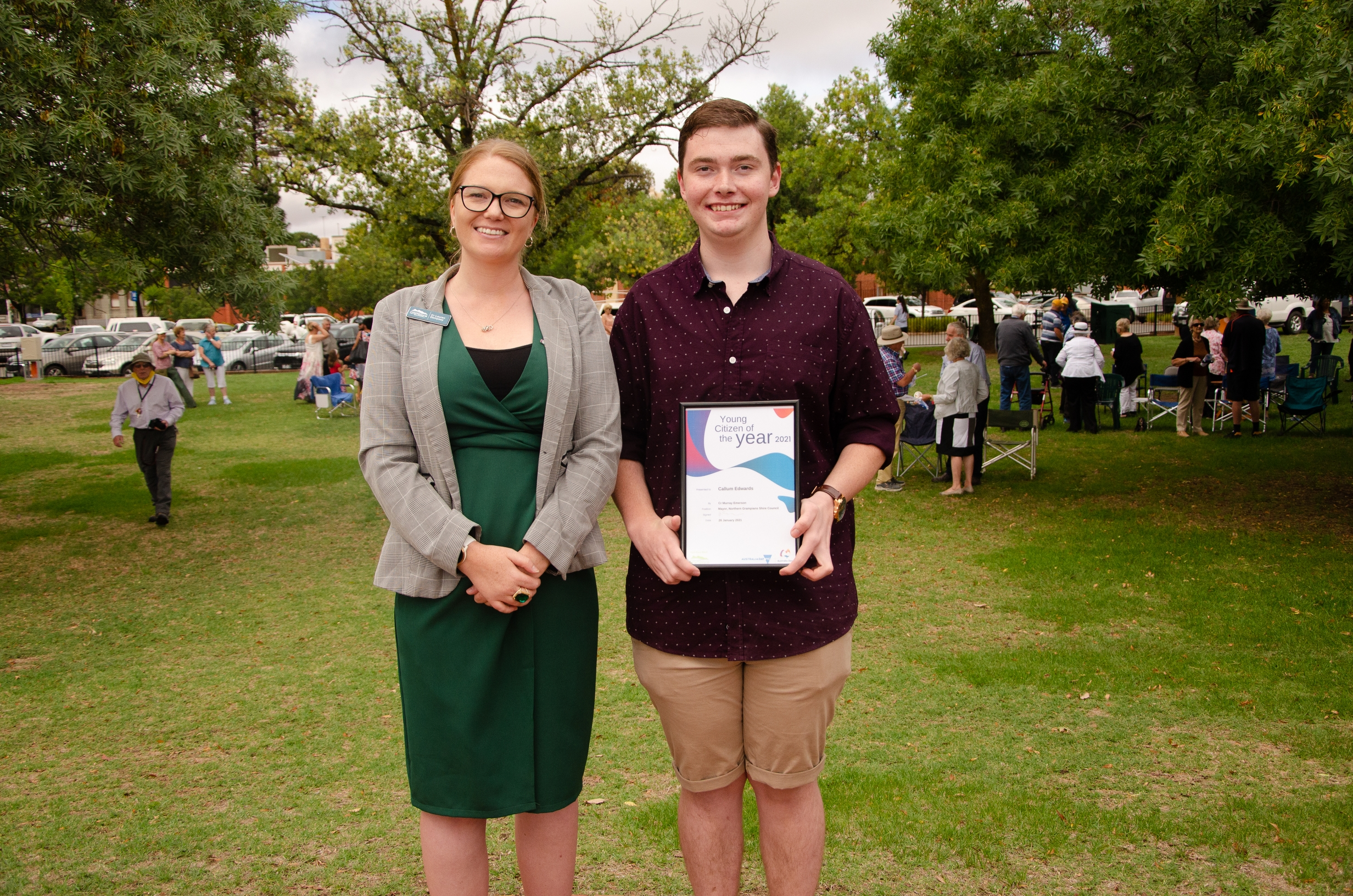 St Arnaud Young Citizen of the Year-Callum Edwards