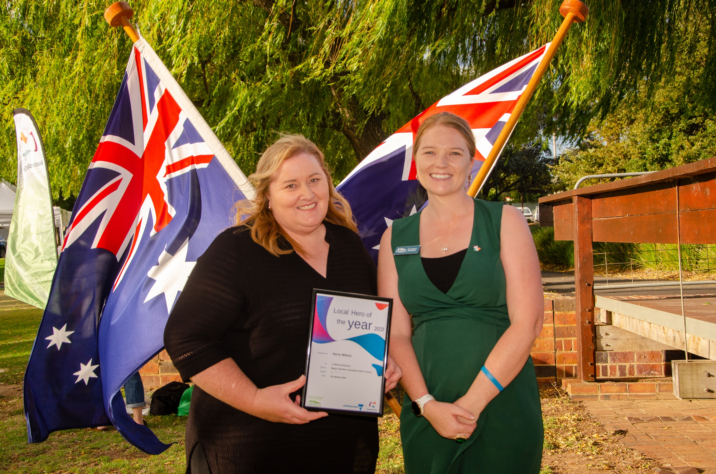 Stawell Local Hero-Kerry Wilson