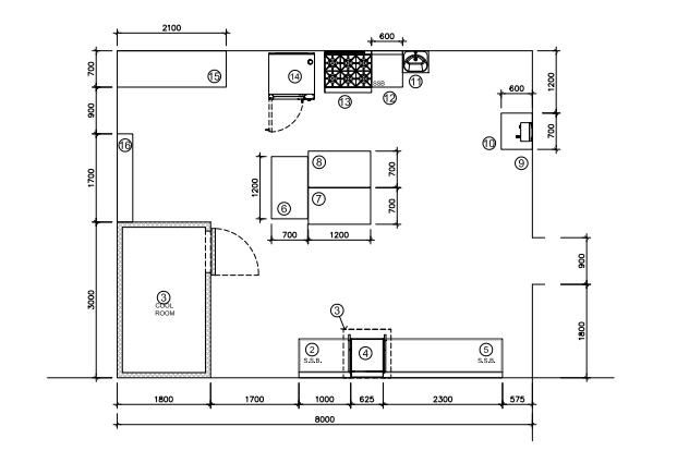 Kitchen Plan Draft