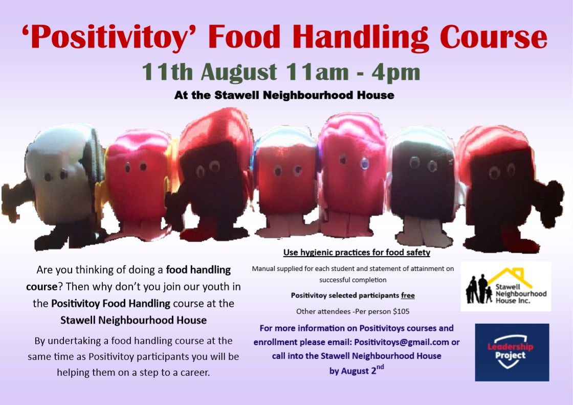 positivitoy' food handling course