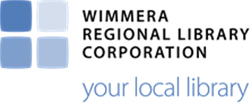 Wimmera Regional Library Corporation logo