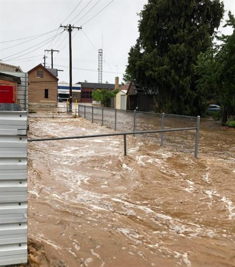 St Arnaud Flood November 2018